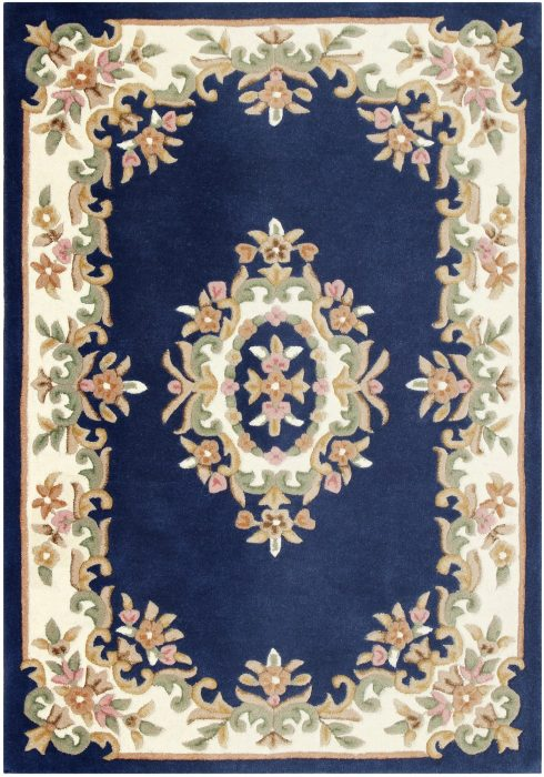 Royal Blue Rug Overhead