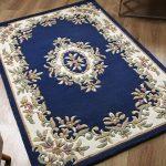 Royal Blue Rug Roomshot
