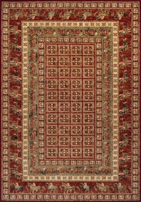 Royal Classic Rug by Oriental Weavers in 1527R Design is woven using 100% New Zealand wool to create a soft pile