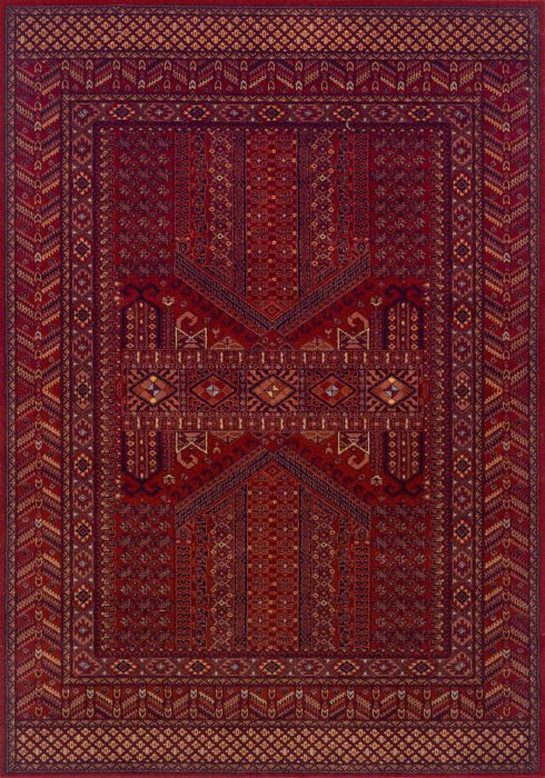 Royal Classic Rug by Oriental Weavers in 635R Design is woven using 100% New Zealand wool to create a soft pile