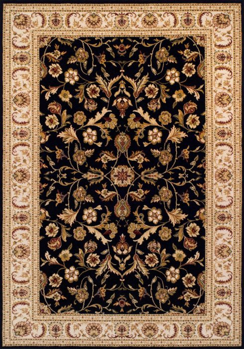 Royal Classic Rug by Oriental Weavers in 636B Design is woven using 100% New Zealand wool to create a soft pile