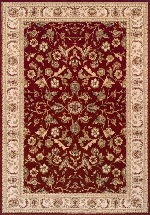 Royal Classic Rug by Oriental Weavers in 636R Design is woven using 100% New Zealand wool to create a soft pile