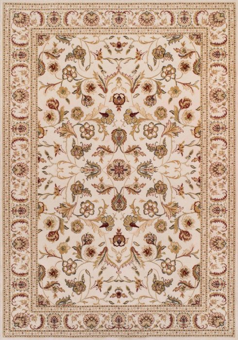 Royal Classic Rug by Oriental Weavers in 636W Design is woven using 100% New Zealand wool to create a soft pile