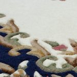 Royal Cream Blue Rug Detail copy