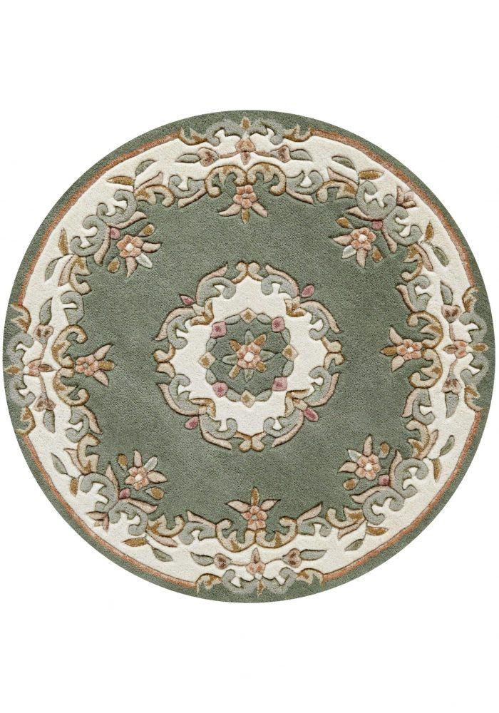 Royal Green Rug Circle