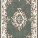 Royal Rug by Oriental Weavers in Green Colour; hand-tufted in India using 100% wool; guaranteed to make an impact in the home