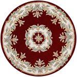 Royal Red Rug Circle