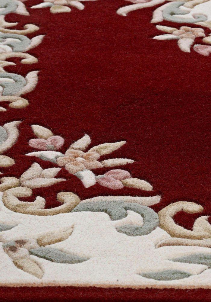 Royal Red Rug Detail