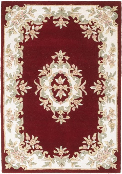 Royal Red Rug Overhead