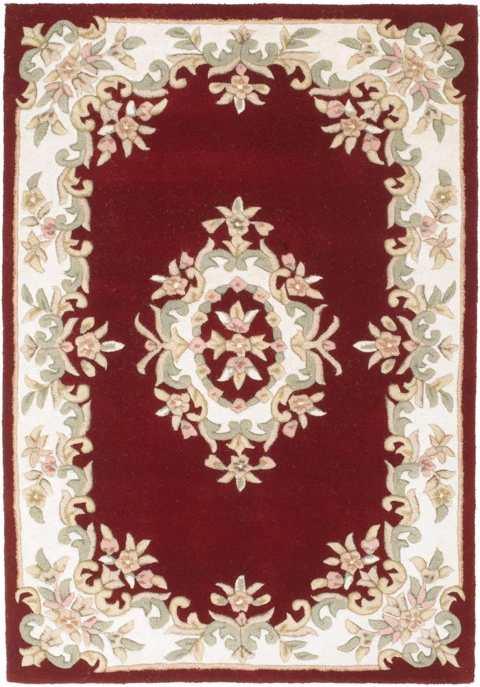 Royal Rug by Oriental Weavers in Red Colour; hand-tufted in India using 100% wool; guaranteed to make an impact in the home