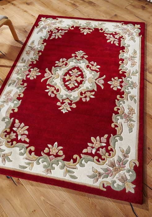 Royal Red Rug Roomshot