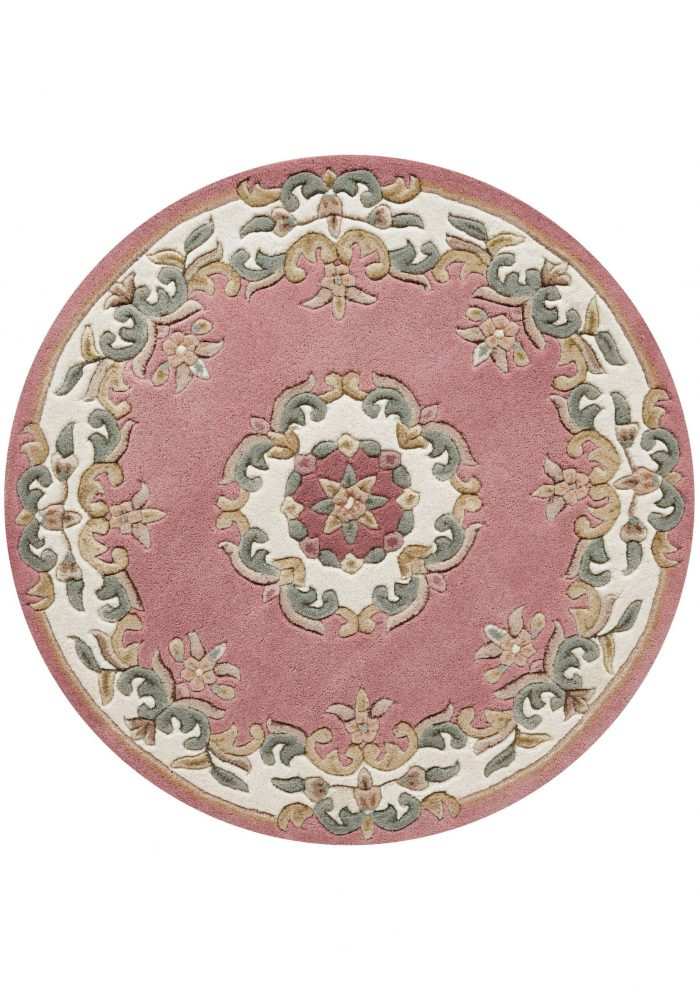 Royal Rose Rug Circle