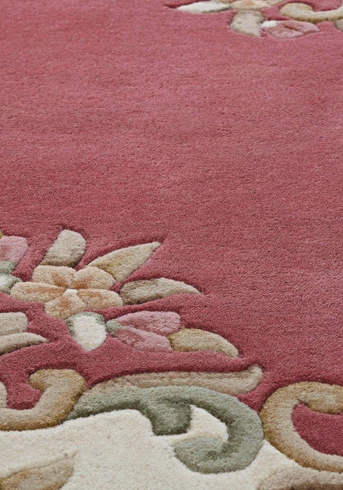 Royal Rose Rug Detail