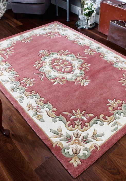 Royal Rose Rug Roomshot
