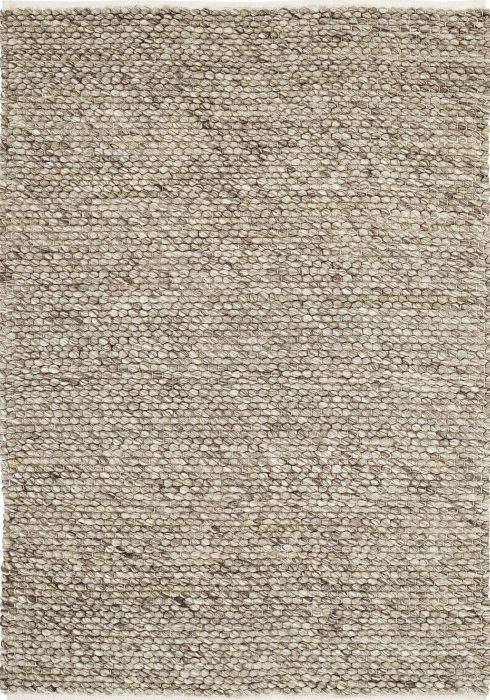 Savannah Rug by Oriental Weavers in Taupe Colour uses a chunky felted yarn to create soft textures and a thick durable rug