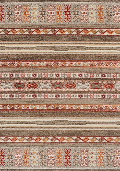 Zante Rug by Oriental Weavers in 5501D Design features a tribal and sophisticated modern design taken from current trends