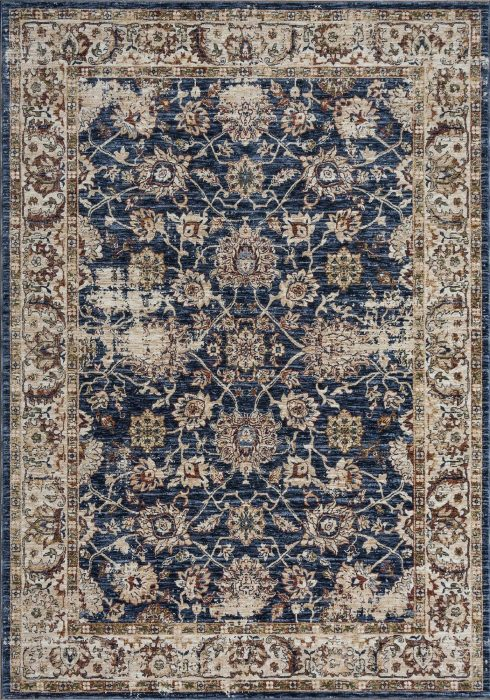 Alhambra Rug by Mastercraft Rugs in 6549A Design; an antique style rug with space-dyed, luxurious polyester yarns