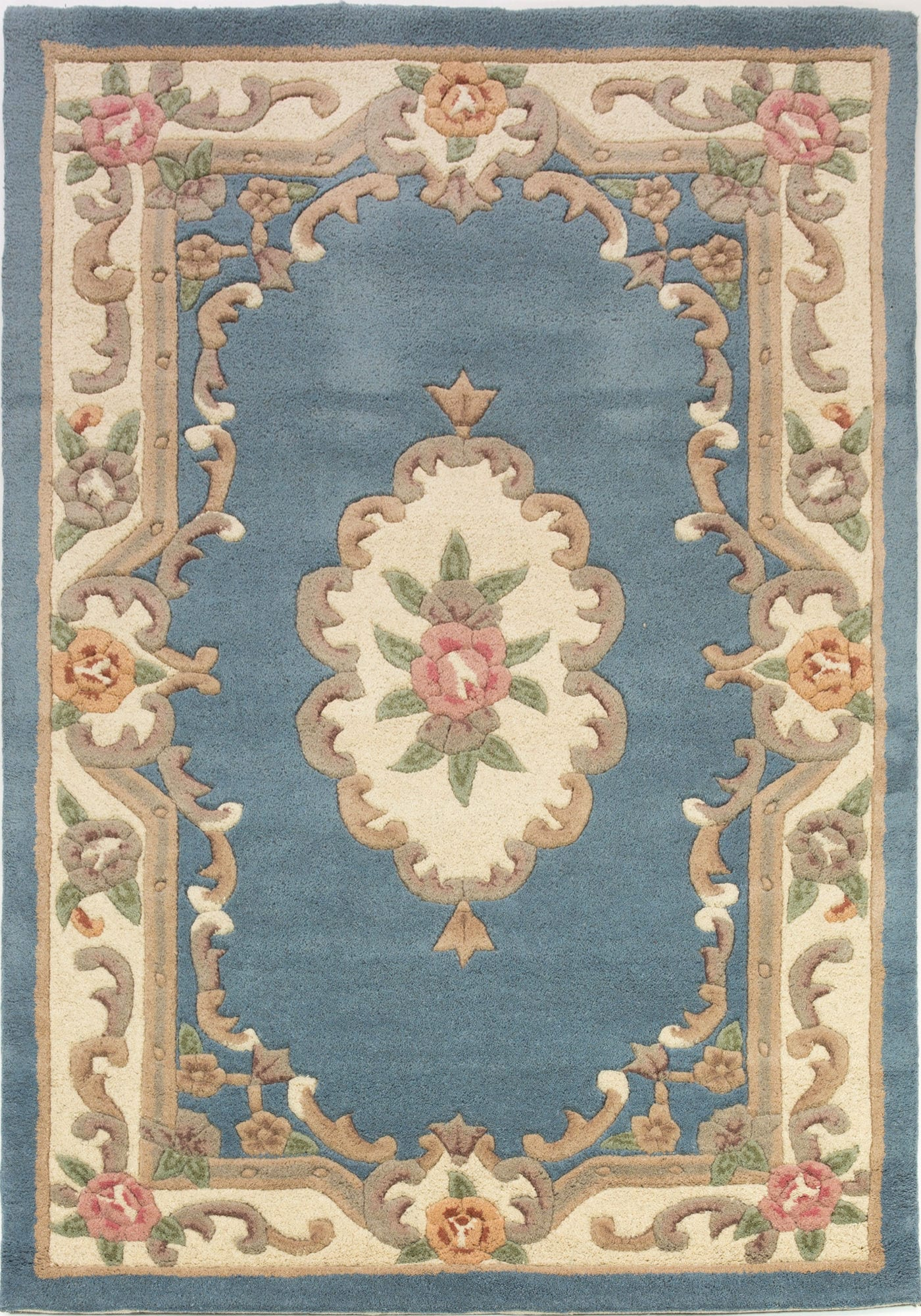Lotus Premium Rug By Flair Rugs Colour Aubusson Blue Rugs Uk