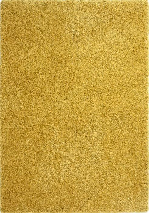 Softness Mustard Rug Overhead
