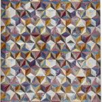 16th Avenue 34A Multi-Coloured Rug by Think Rugs; made with highest quality super soft polypropylene