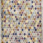 16th Avenue Rug by Think Rugs in 35A Multi-Colour; created using the highest quality super soft polypropylene