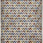 16th Avenue Rug by Think Rugs in 36A Multi-Colour; created using the highest quality super soft polypropylene
