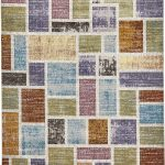 16th Avenue Rug by Think Rugs in 37A Multi-Colour; created using the highest quality super soft polypropylene