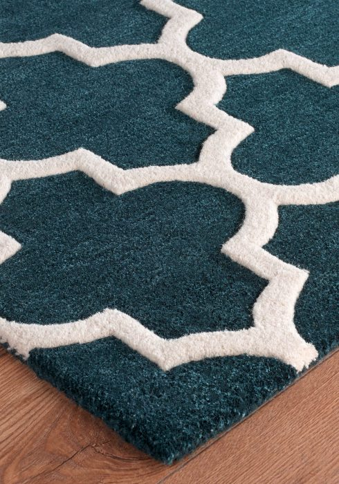 Arabesque Emerald Rug Detail 11
