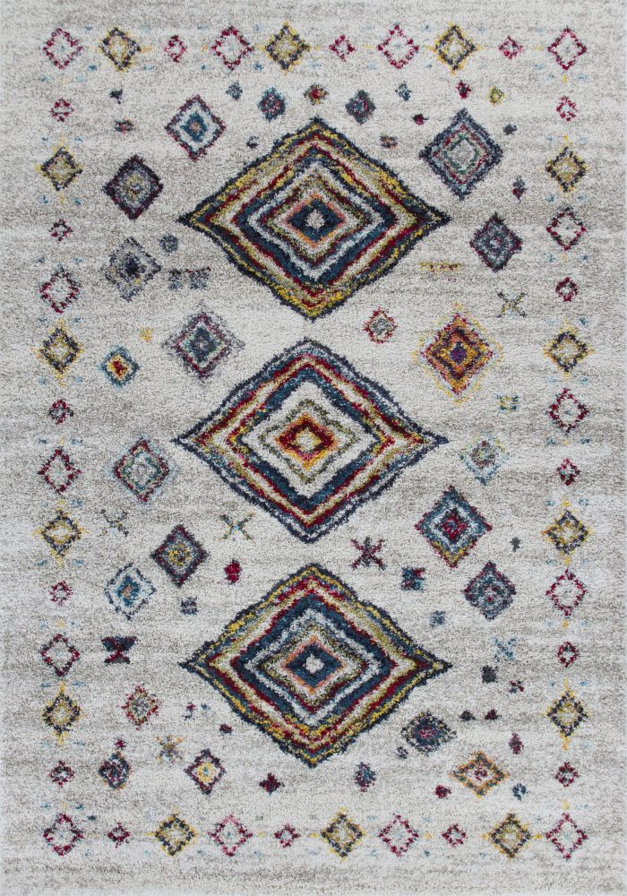 Atlas Rug by Oriental Weavers in 181J Design featuring a soft pile, perfect for bringing boho style to the floor