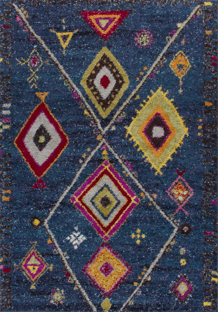 Atlas Rug by Oriental Weavers in 80B Design; perfect for bringing boho style to the floor