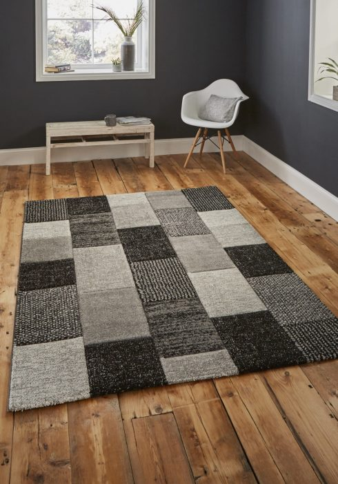 Brooklyn 21830 Grey.Black _9 Rug