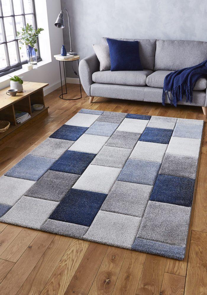 Brooklyn 21830 Grey.Blue _9 Rug