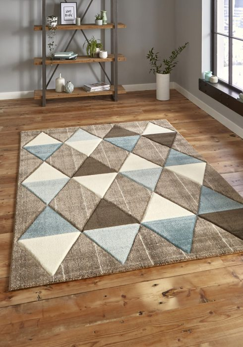 Brooklyn 21896 Beige.Blue _9 Rug