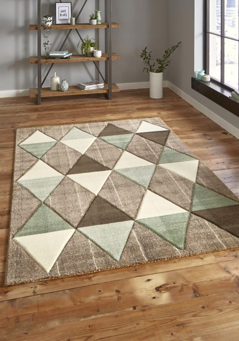 Brooklyn 21896 Beige.Green _9 Rug