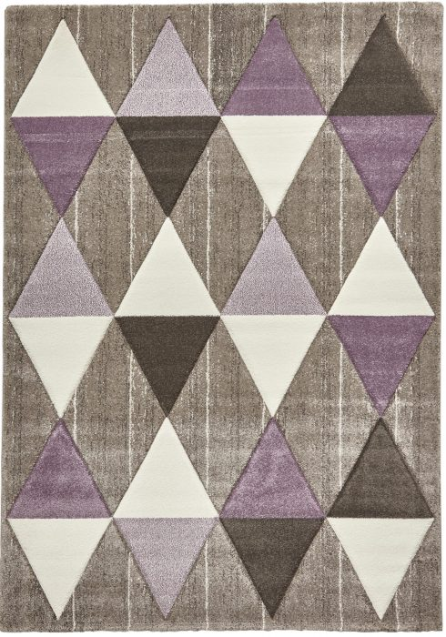 Brooklyn 21896 Beige.Purple _2 Rug