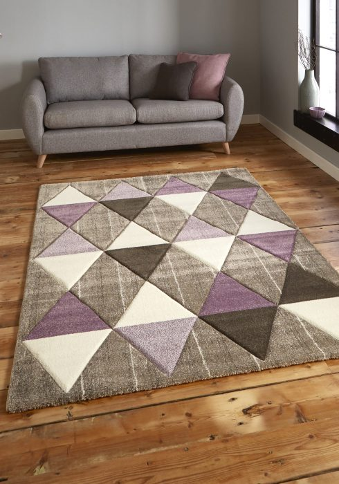 Brooklyn 21896 Beige.Purple _9 Rug