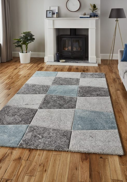 Brooklyn 22192 Grey.Blue _9 Rug