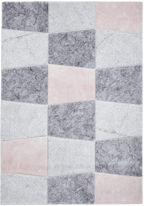 Brooklyn 22192 Grey.Rose _2 Rug