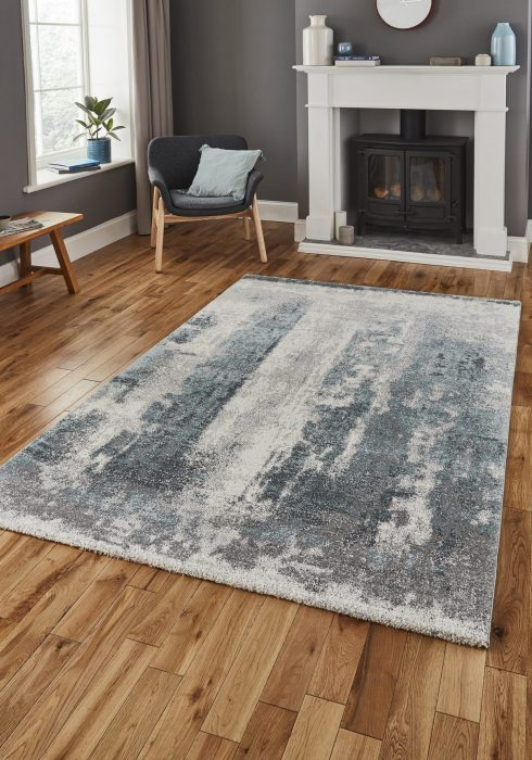 Brooklyn 8595 Grey.Blue _9 Rug