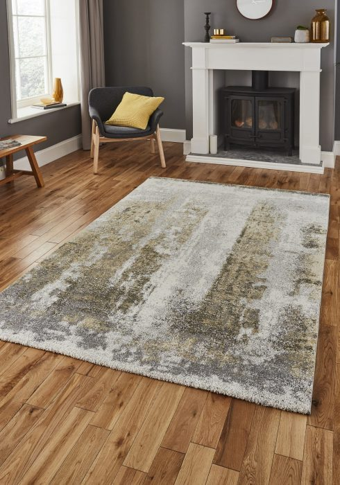 Brooklyn 8595 Grey.Yellow _9 Rug