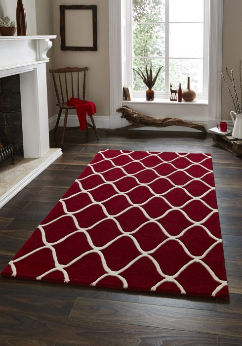 Elements EL 65 Red _9 Rug