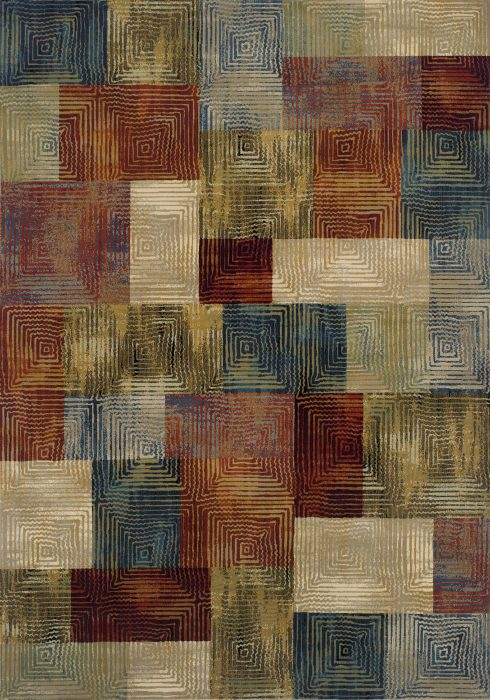 Florenza Rug by Oriental Weavers in 560X Design; a machine-woven rug with a heat-set yarn to create a dense heavy pile
