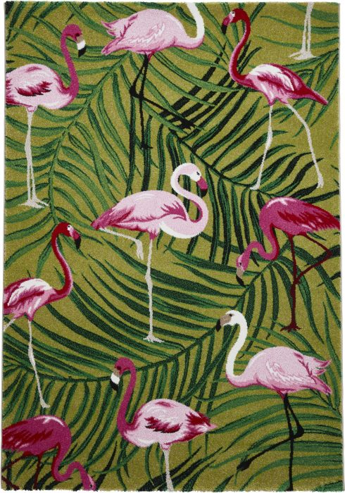 Havana 2349 Green.Pink _2 Rug