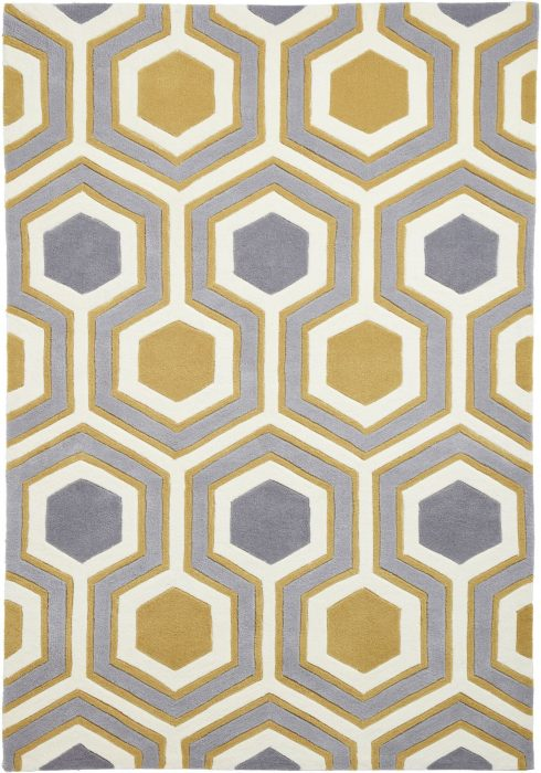 Hong Kong 3661 Grey.Yellow _2 Rug