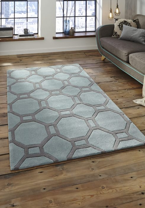 Hong Kong 4338 Blue.Grey _9 Rug