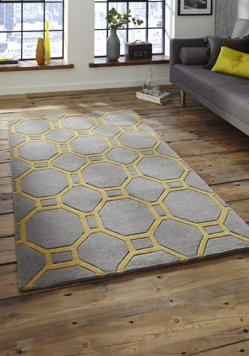 Hong Kong 4338 Grey.Yellow _9 Rug