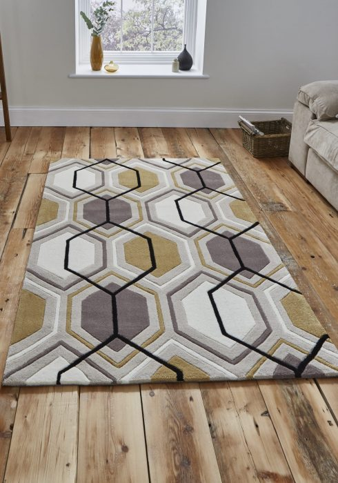 Hong Kong 7526 Beige.Yellow _9 Rug