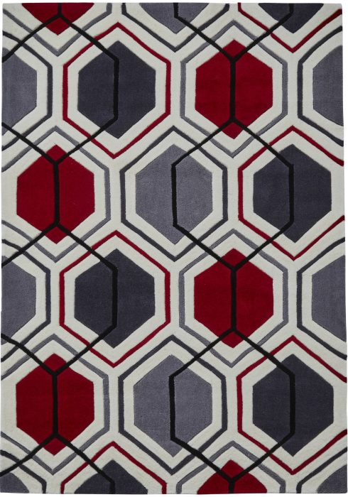 Hong Kong 7526 Cream.Red _2 Rug