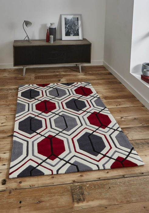 Hong Kong 7526 Cream.Red _9 Rug