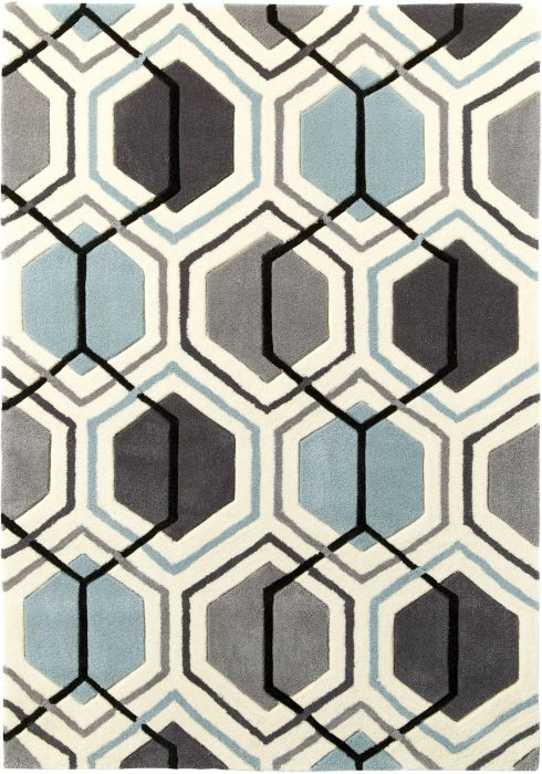 Hong Kong 7526 Grey.Blue _2 Rug